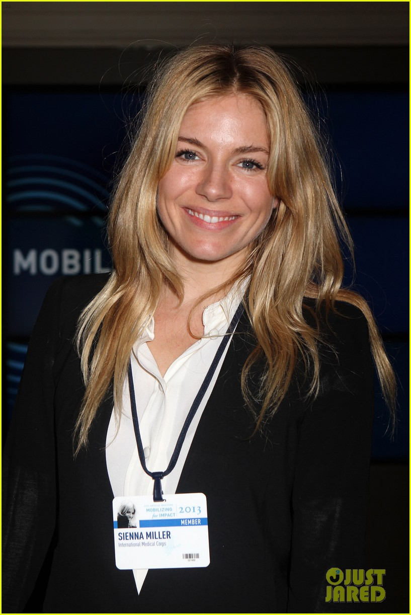 sienna miller clinton global initiative events in new york 022960711
