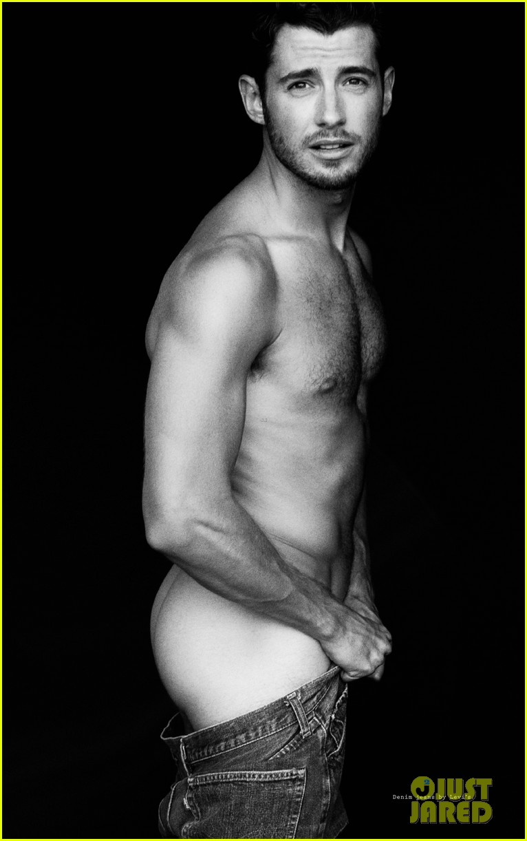 julian morris naked for wonderland mag full spread 05