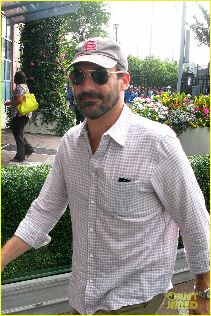 elizabeth olsen jon hamm us open labor day sightings 02