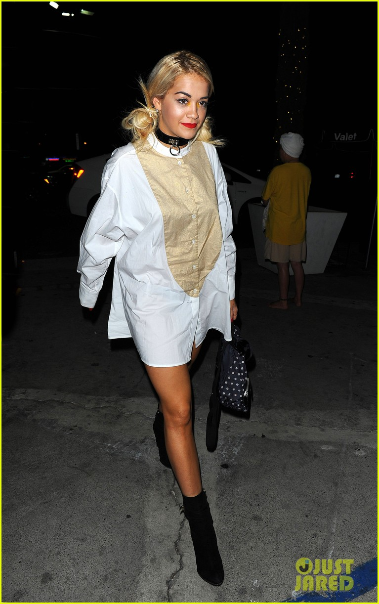 rita ora spa time after fun weekend with calvin harris 182958649