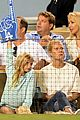 gwyneth paltrow dodgers game with apple moses 03