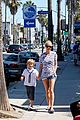 gwyneth paltrow chris martin spend sunday with moses 14