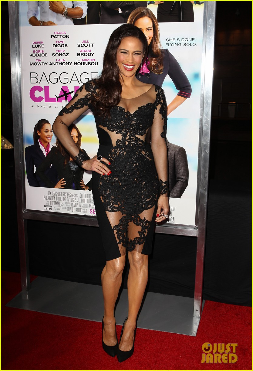 paula patton baggage claim premiere with robin thicke 01