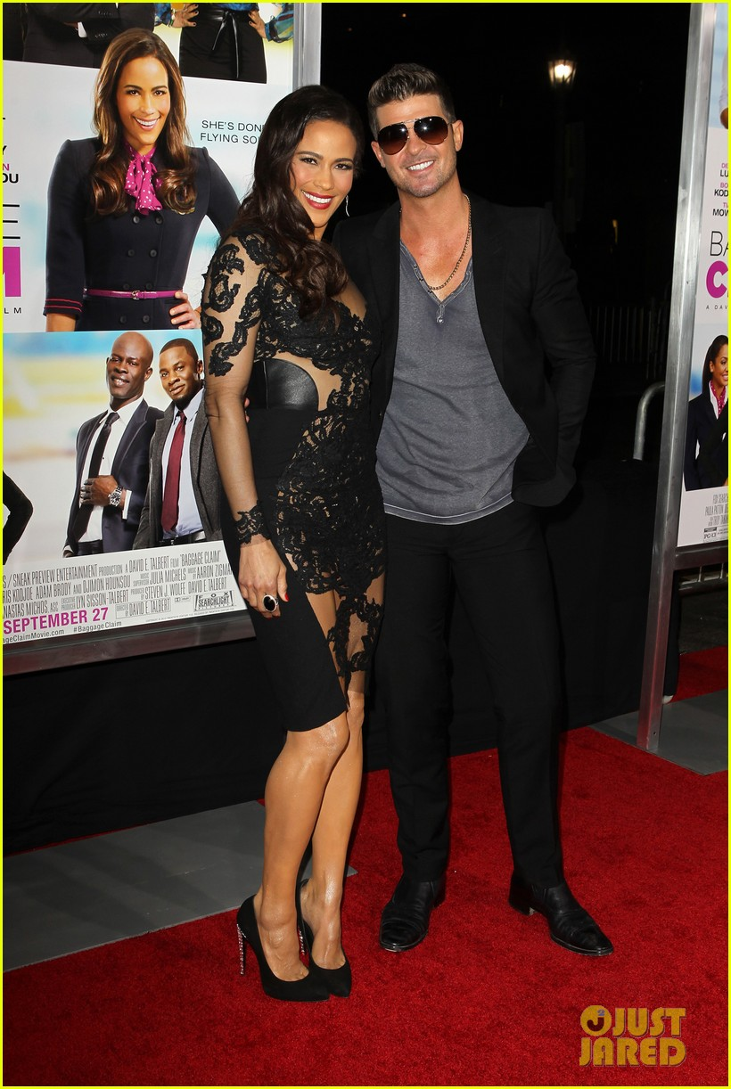 paula patton baggage claim premiere with robin thicke 13