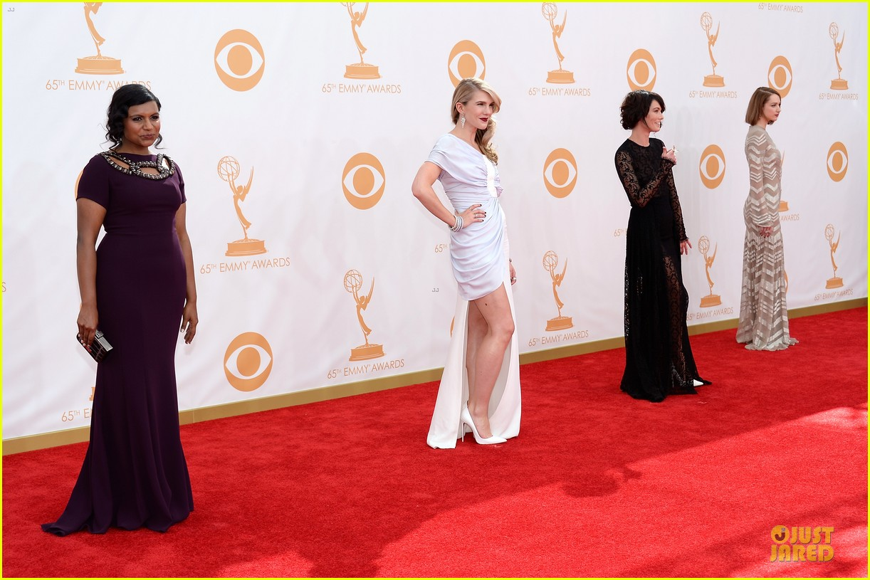 evan peters lily rabe emmys 2013 red carpet 05