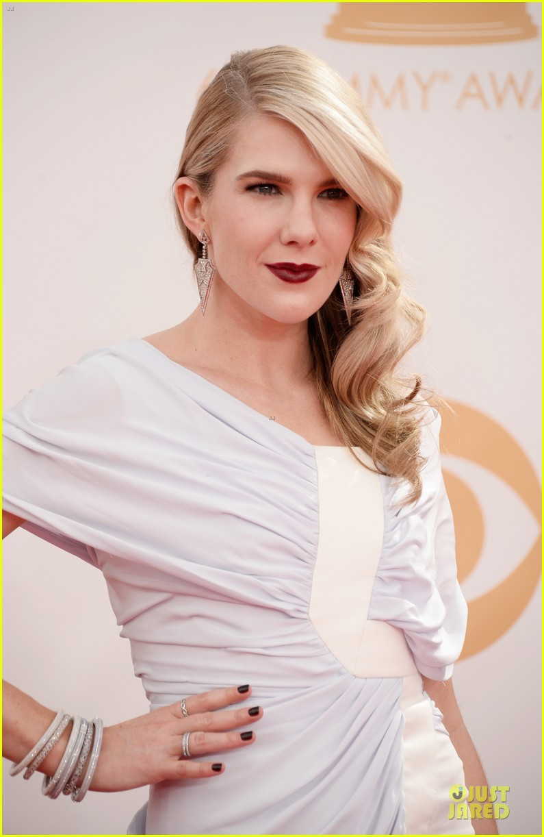 evan peters lily rabe emmys 2013 red carpet 08