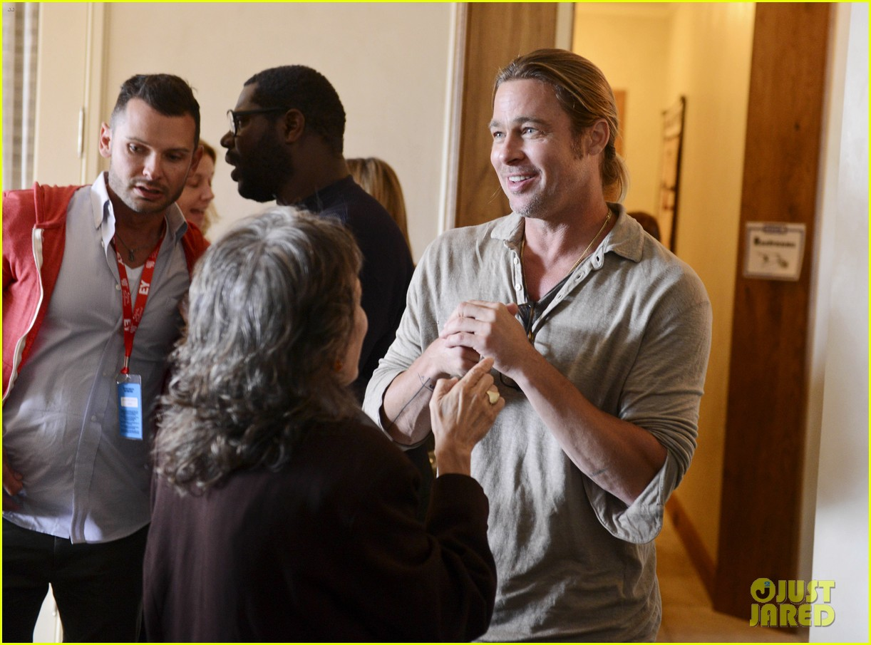 brad pitt michael fassbender ampas party in telluride 032941596