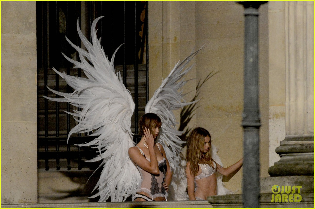 behati prinsloo lily aldridge vs angels louvre shoot 06
