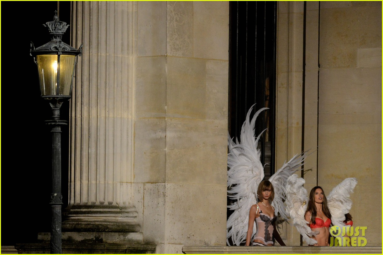 behati prinsloo lily aldridge vs angels louvre shoot 10