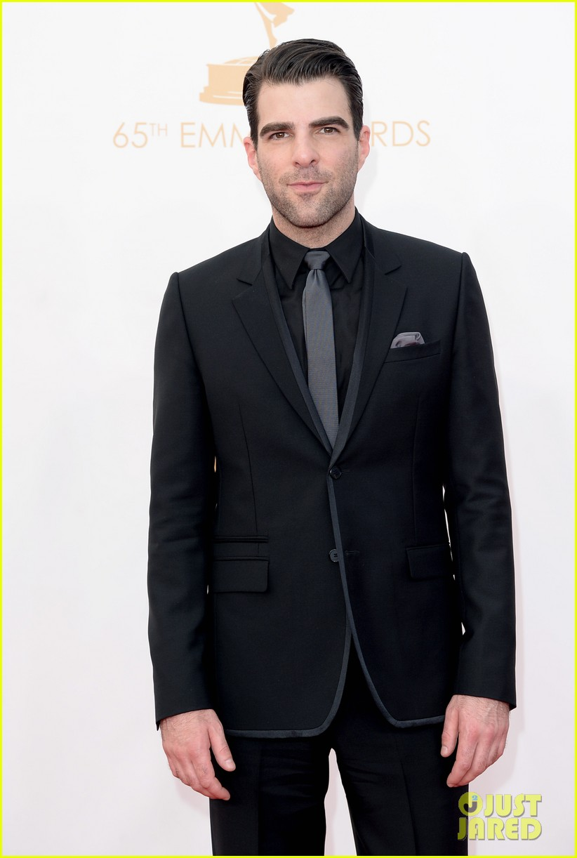 zachary quinto sarah paulson emmy awards 2013 02