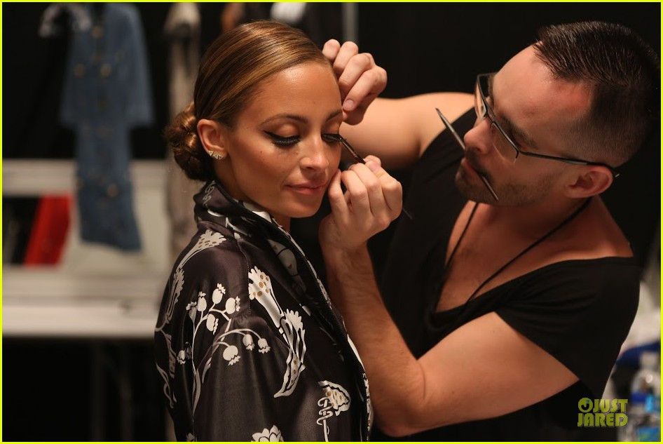 nicole richie style awards behind the scenes pics exclusive 02.2950973
