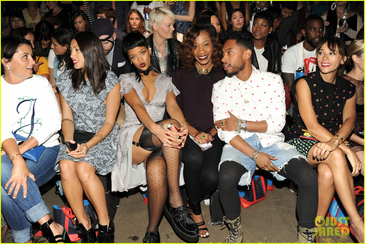 rihanna justin bieber opening ceremony nyfw after party 01