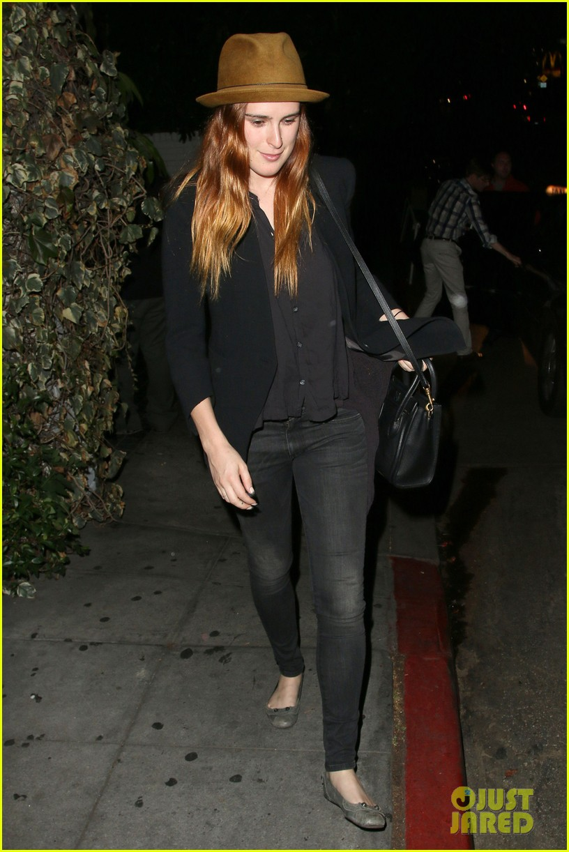 rumer willis chateau marmont after hawaii five 0 filming 05