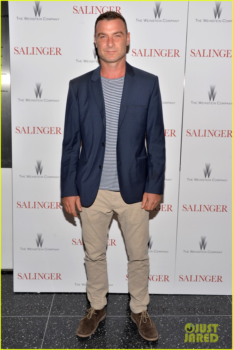 liev schreiber salinger new york screening 06