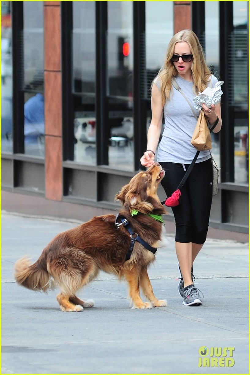 amanda seyfried immortality for her dog finn 18