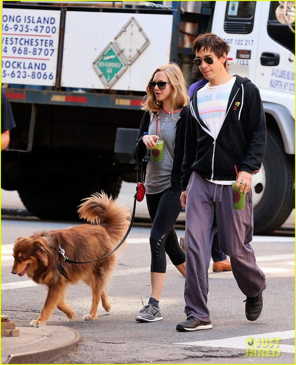 amanda seyfried justin long juice bar morning pick up 032956051