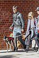 amanda seyfried justin long nyc dog walking twosome 03