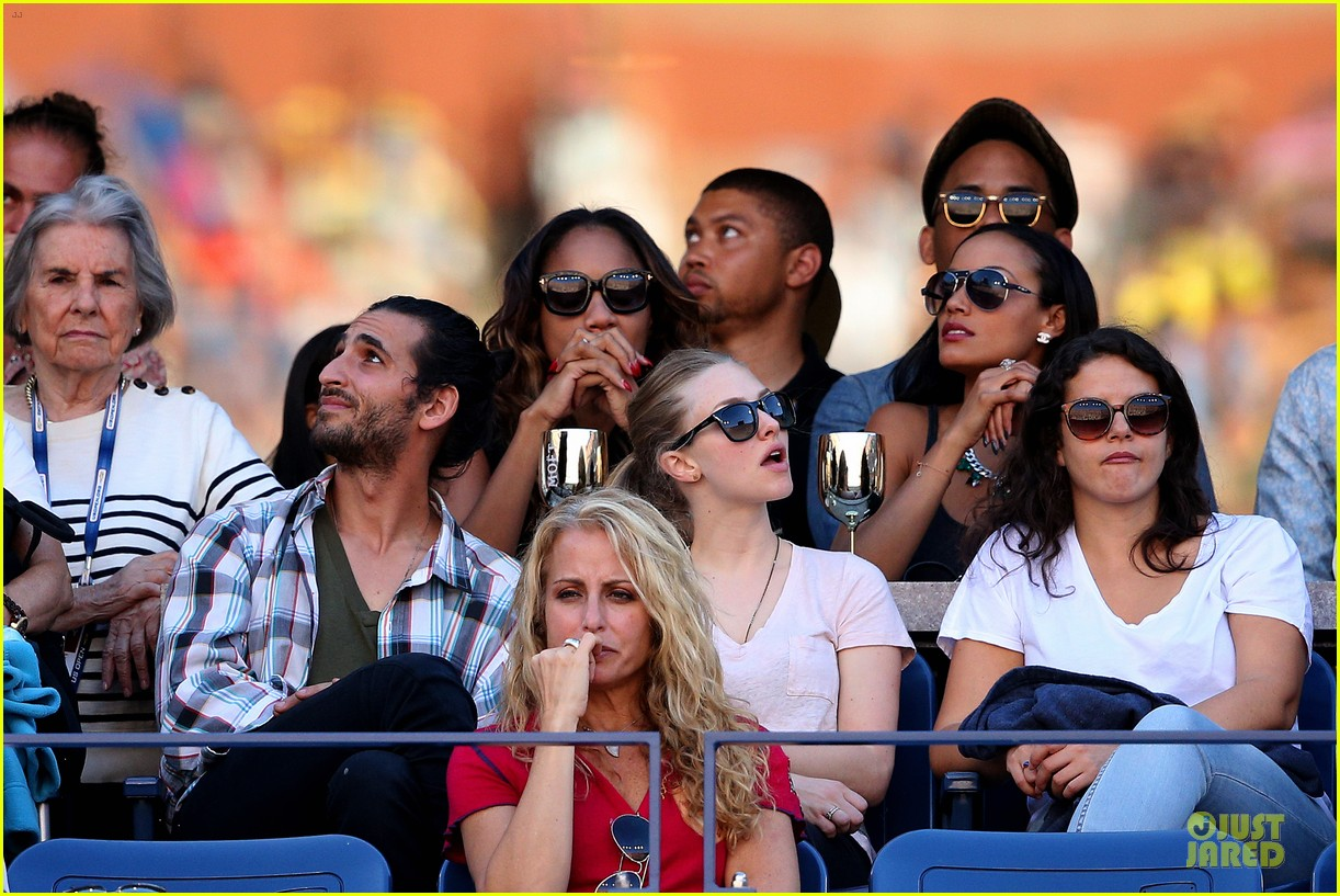 amanda seyfried eva longoria us open womens final 022947477