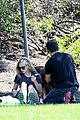 amanda seyfried justin long weekend outing with finn 10