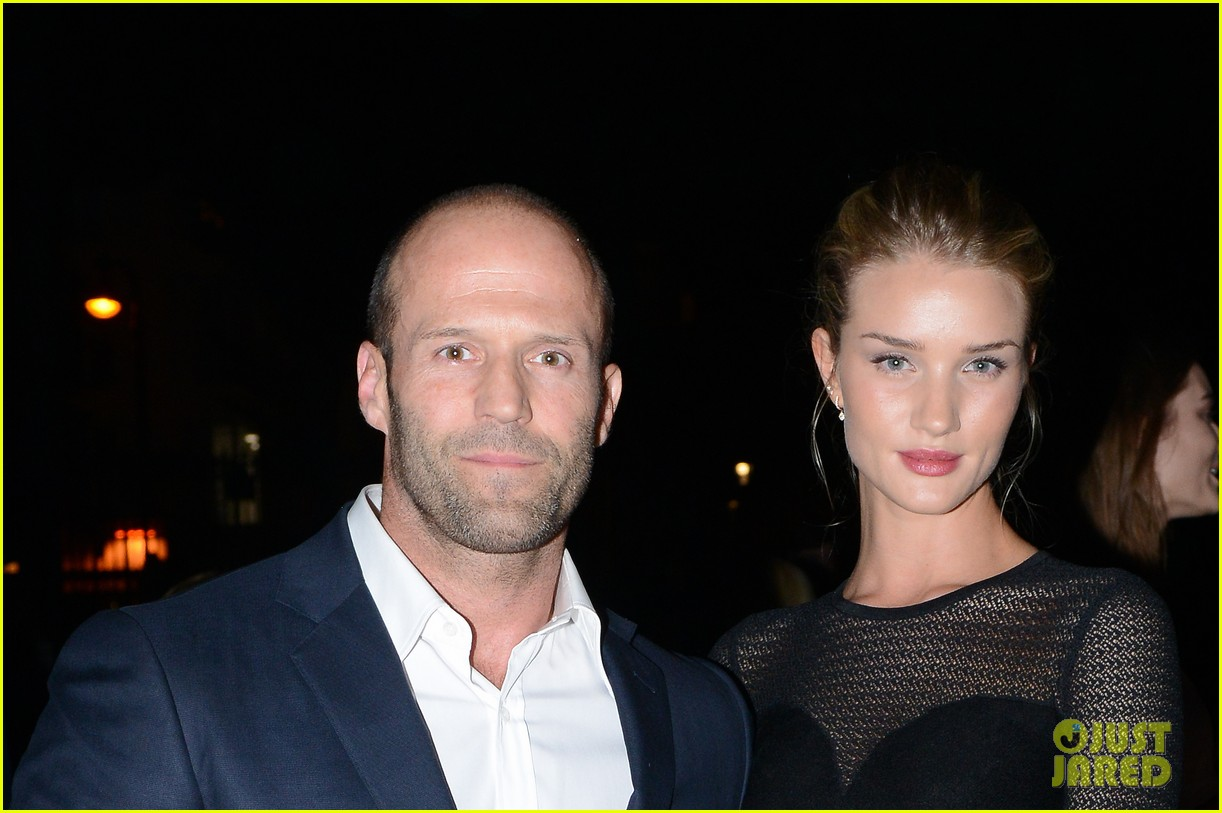 jason statham rosie huntington whiteley azzedine alaia paris fashion show 022959943