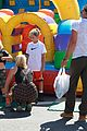 gwen stefani possible baby bump drop off the boys 01
