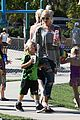 gwen stefani mommy duties with kingston and zuma 15