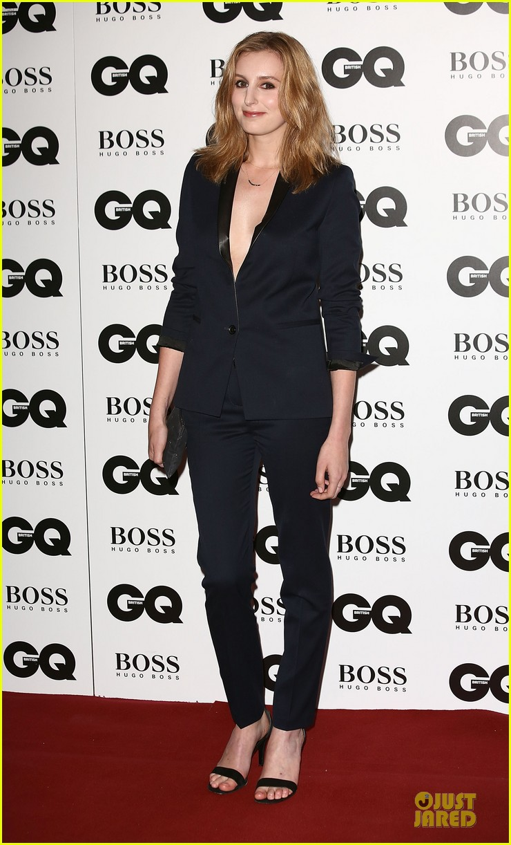 dan stevens laura carmichael gq men of the year awards 2013 012943111