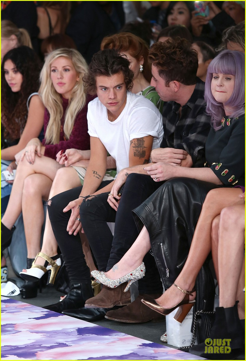 harry styles kelly osbourne house of holland fashion show 152952386