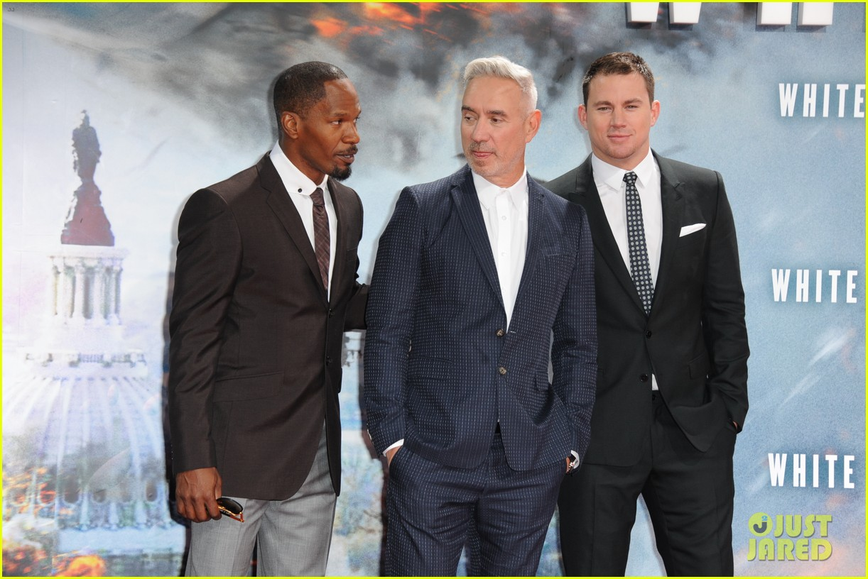 channing tatum jamie foxx white house down in berlin 122942467
