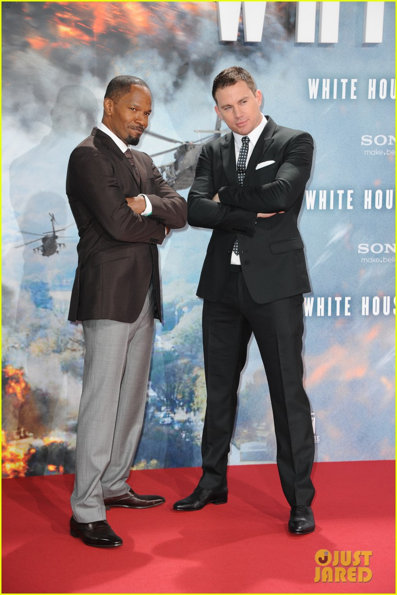 channing tatum jamie foxx white house down in berlin 132942468