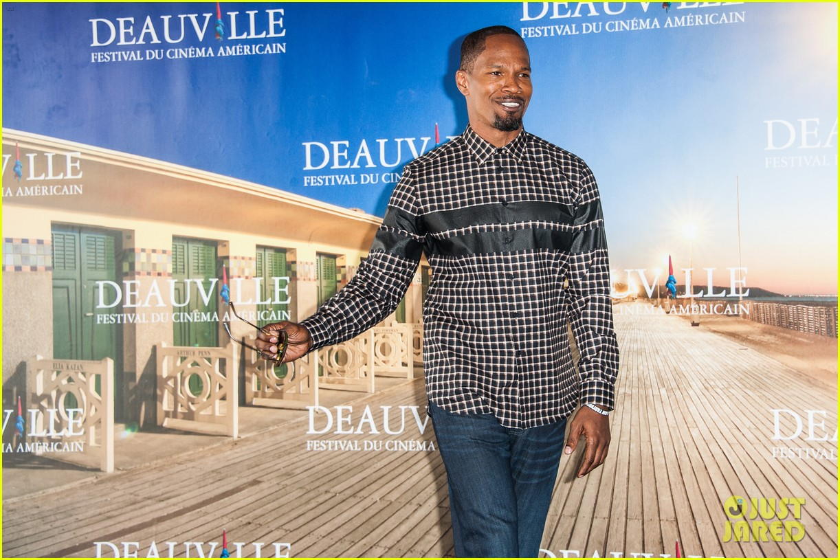 channing tatum jamie foxx white house down deauville photo call 13
