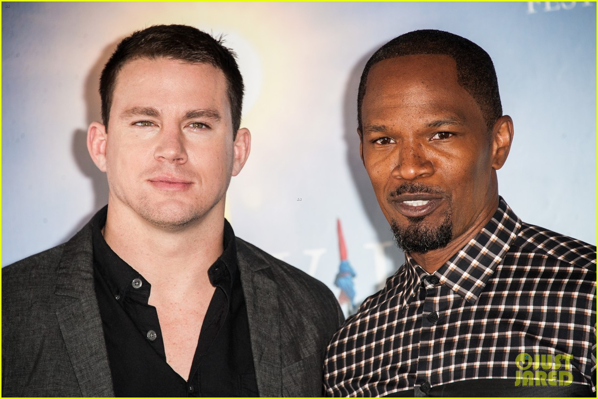 channing tatum jamie foxx white house down deauville photo call 20