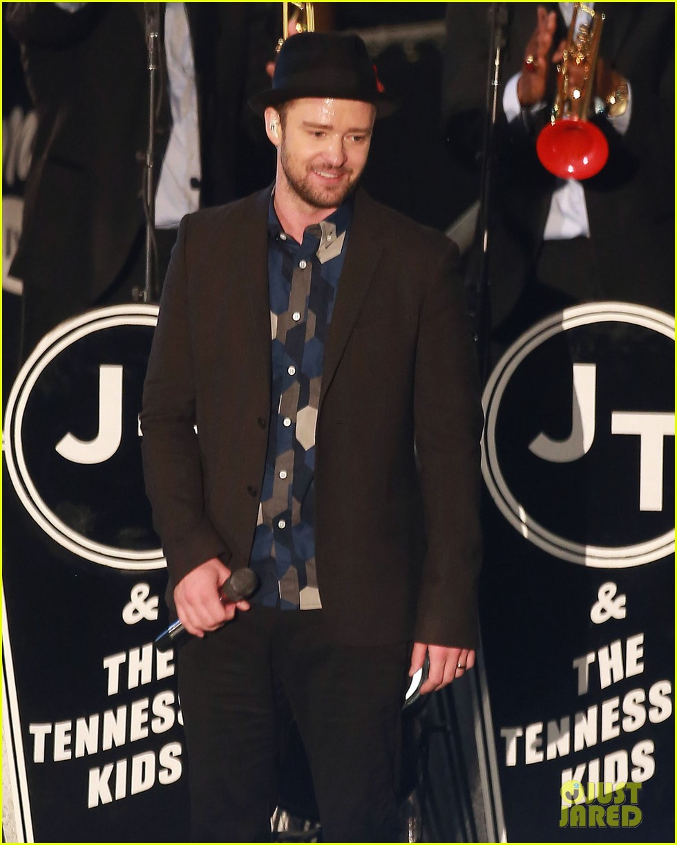 justin timberlake performs tko at jimmy kimmel live 072959693
