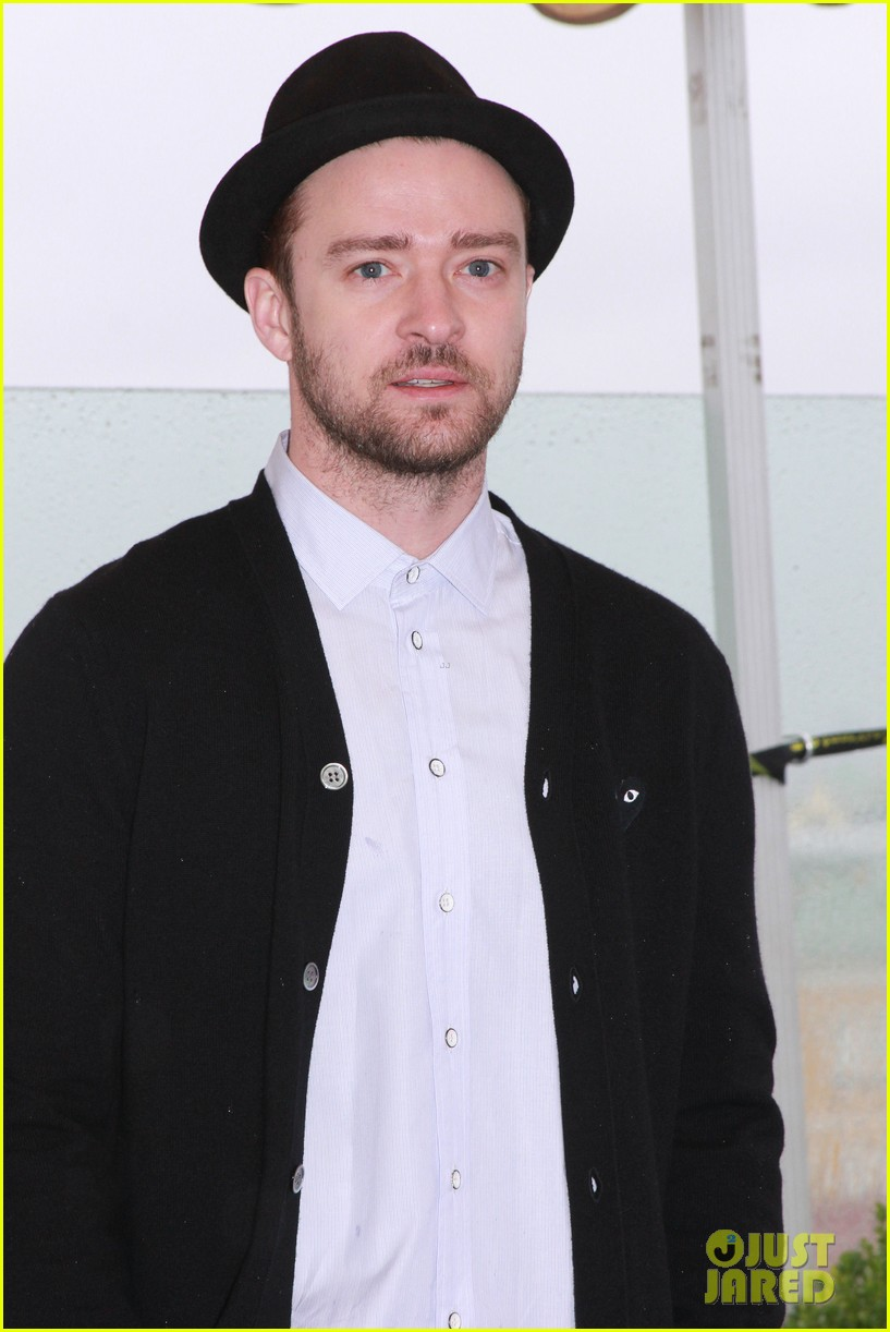 justin timberlake runner runner moscow photo call 142945108