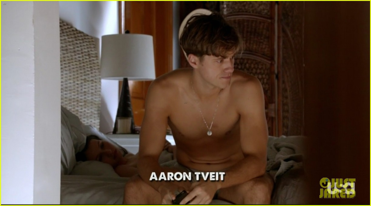 aaron tveit graceland renewed for second season 062949264
