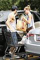 emily vancamp josh bowman get groceries at gelsons 17