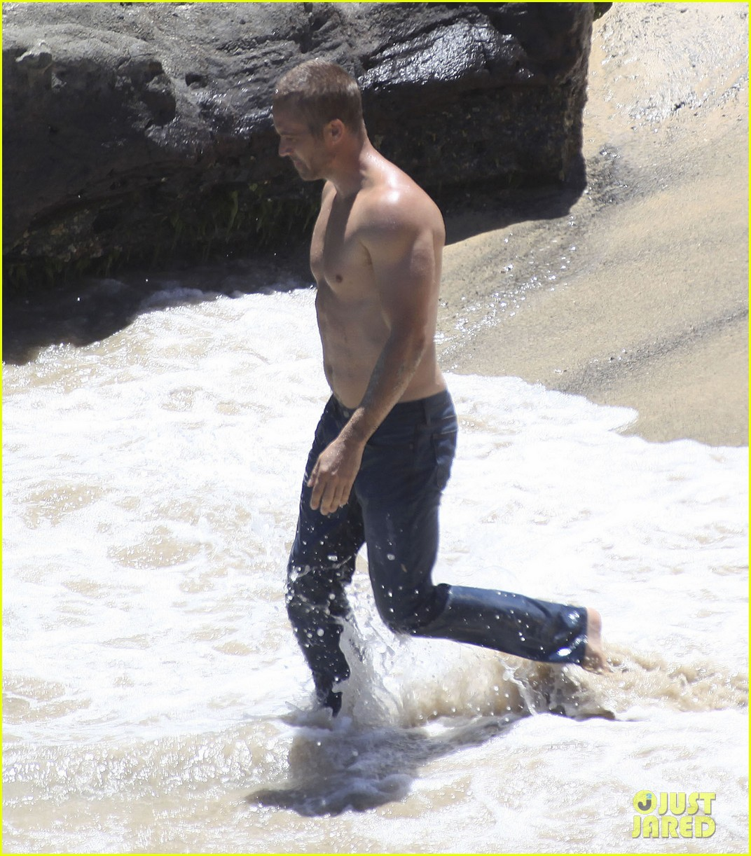 paul walker shirtless cool water cologne photo shoot 14