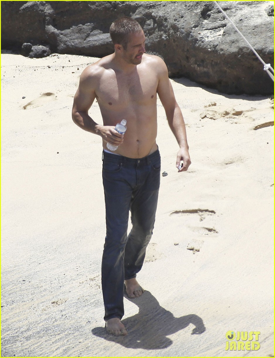 paul walker shirtless cool water cologne photo shoot 182945036