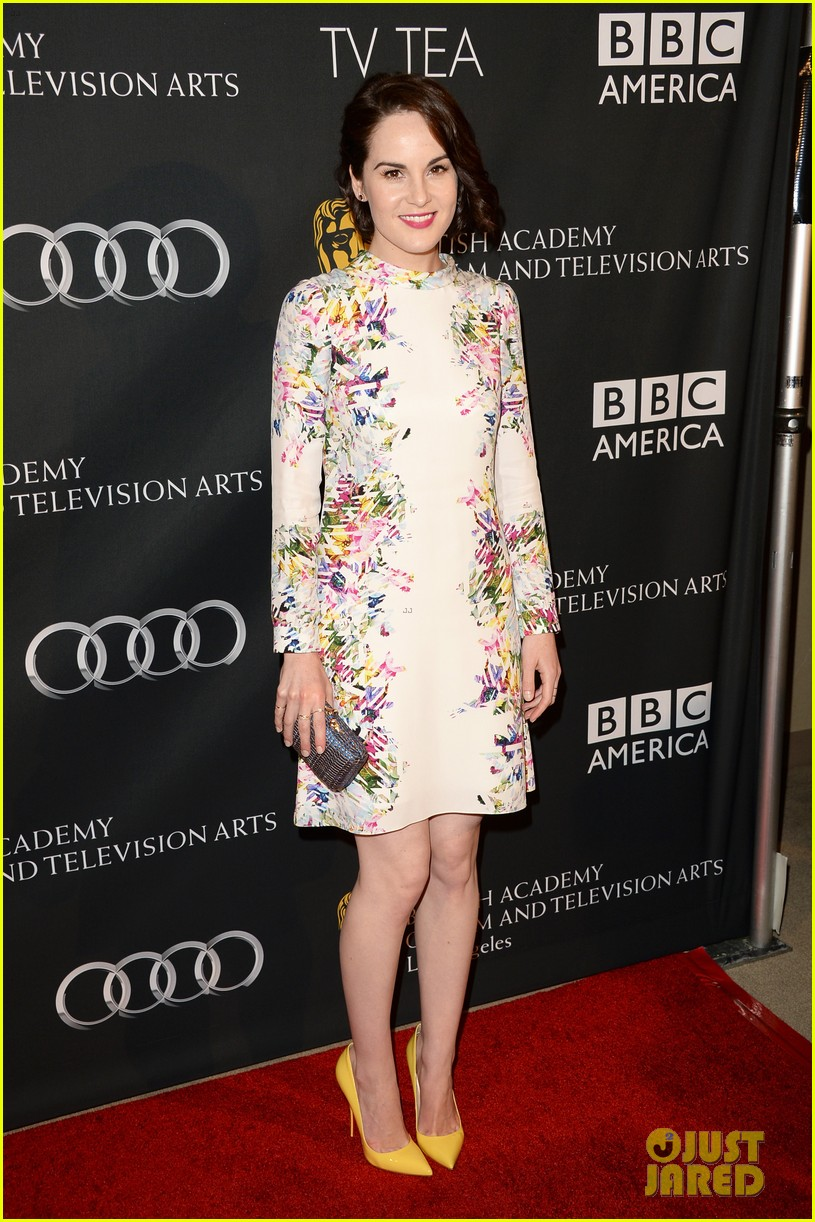 kerry washington michelle dockery bafta la tv tea party 052956988
