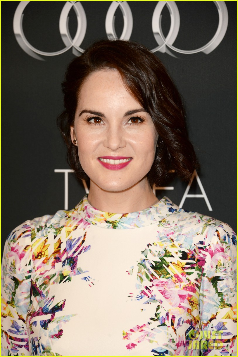 kerry washington michelle dockery bafta la tv tea party 16