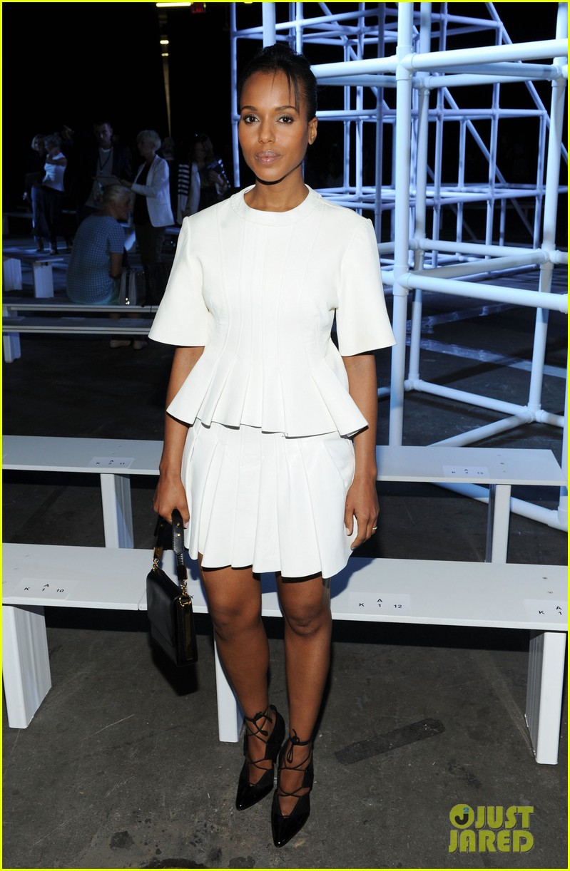 kerry washington kanye west alexander wang show 012946575