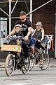 naomi watts family bike all week in new york city 07