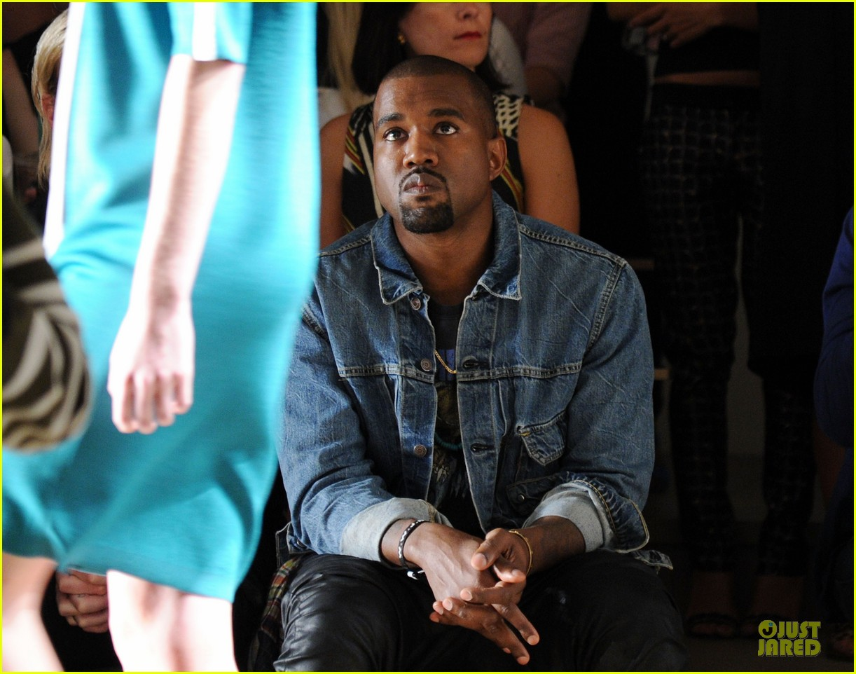 kanye west louise goldin fashion show 12