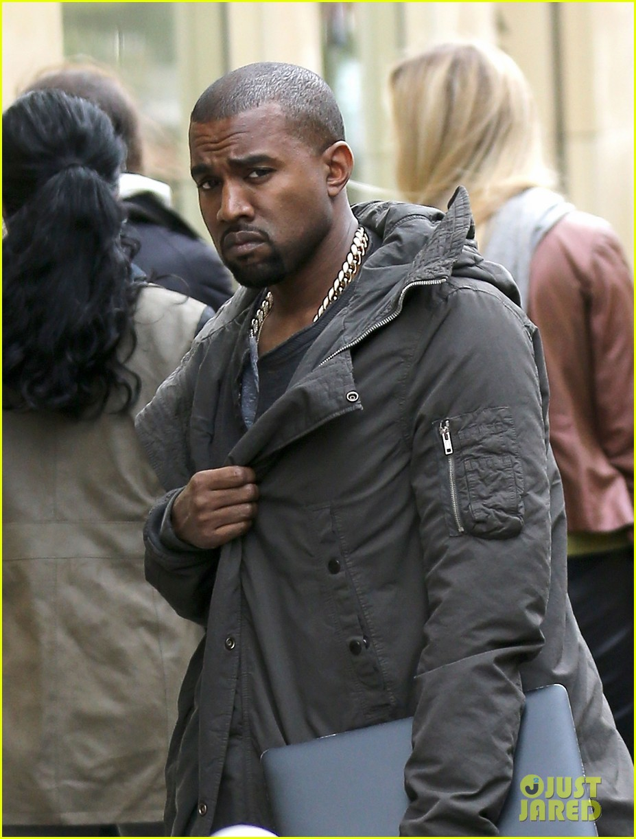 kanye west promotes yeezus in paris 042954628