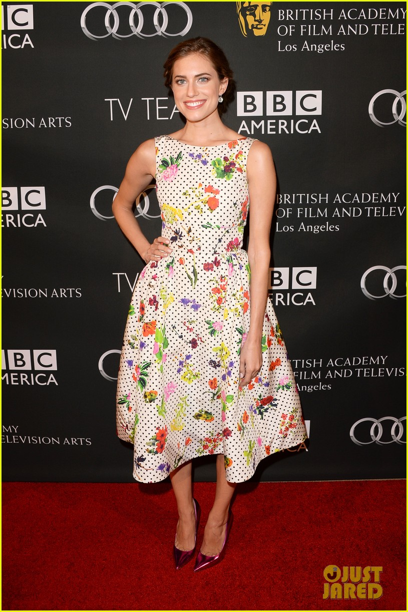 allison williams ashley madekwe bafta la tv tea party 022957032