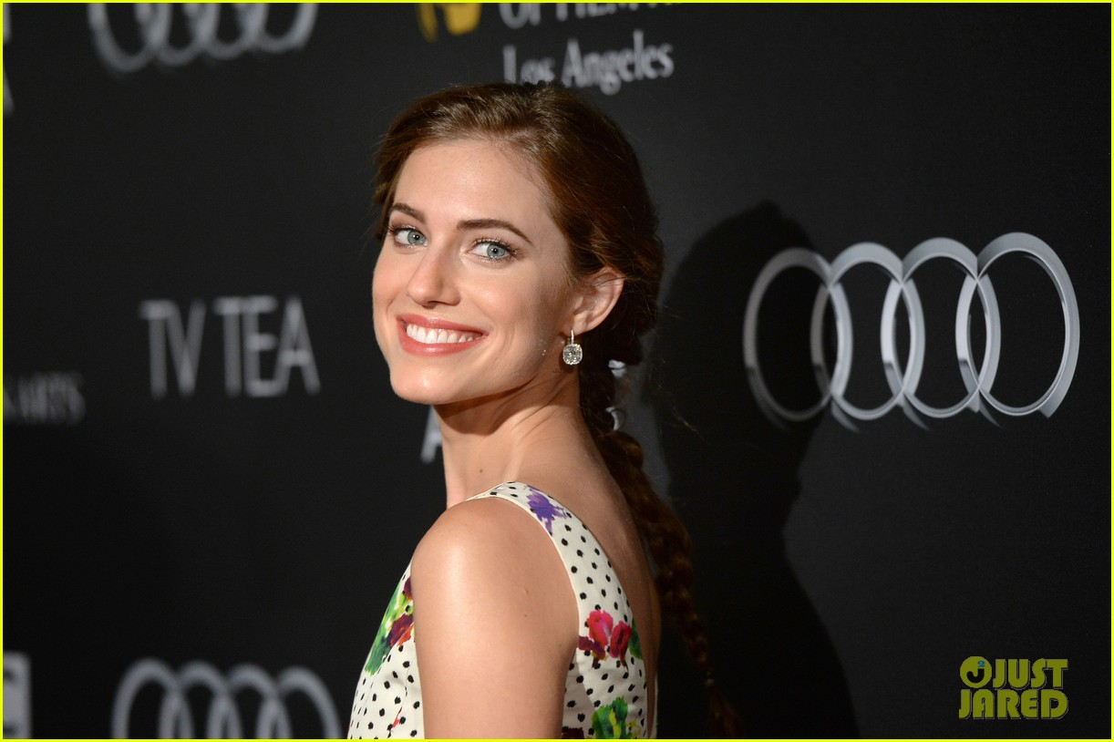 allison williams ashley madekwe bafta la tv tea party 16