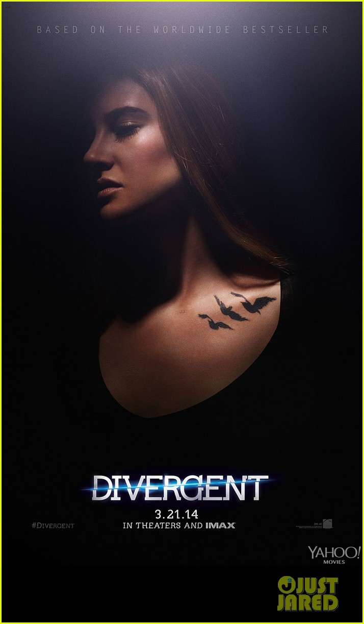 Shailene Woodley & Theo James: New 'Divergent' Posters ...