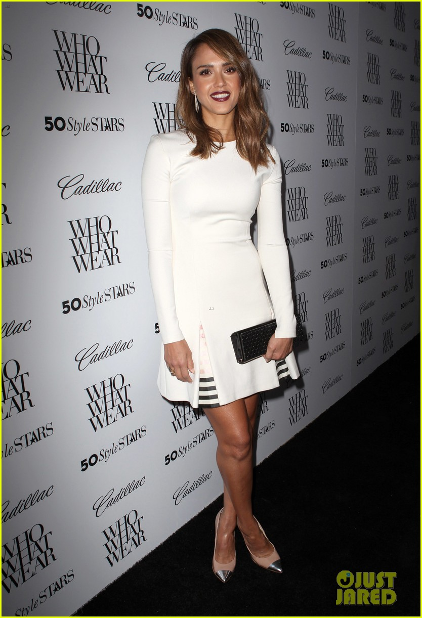 jessica alba nicole richie cadillacs 50 most fashionable women of 2013 33