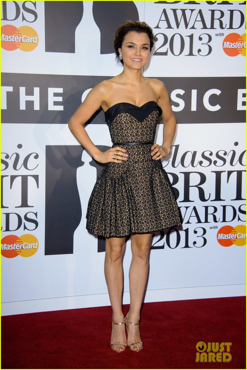 samantha barks celebrates birthday at classic brit awards 052964762