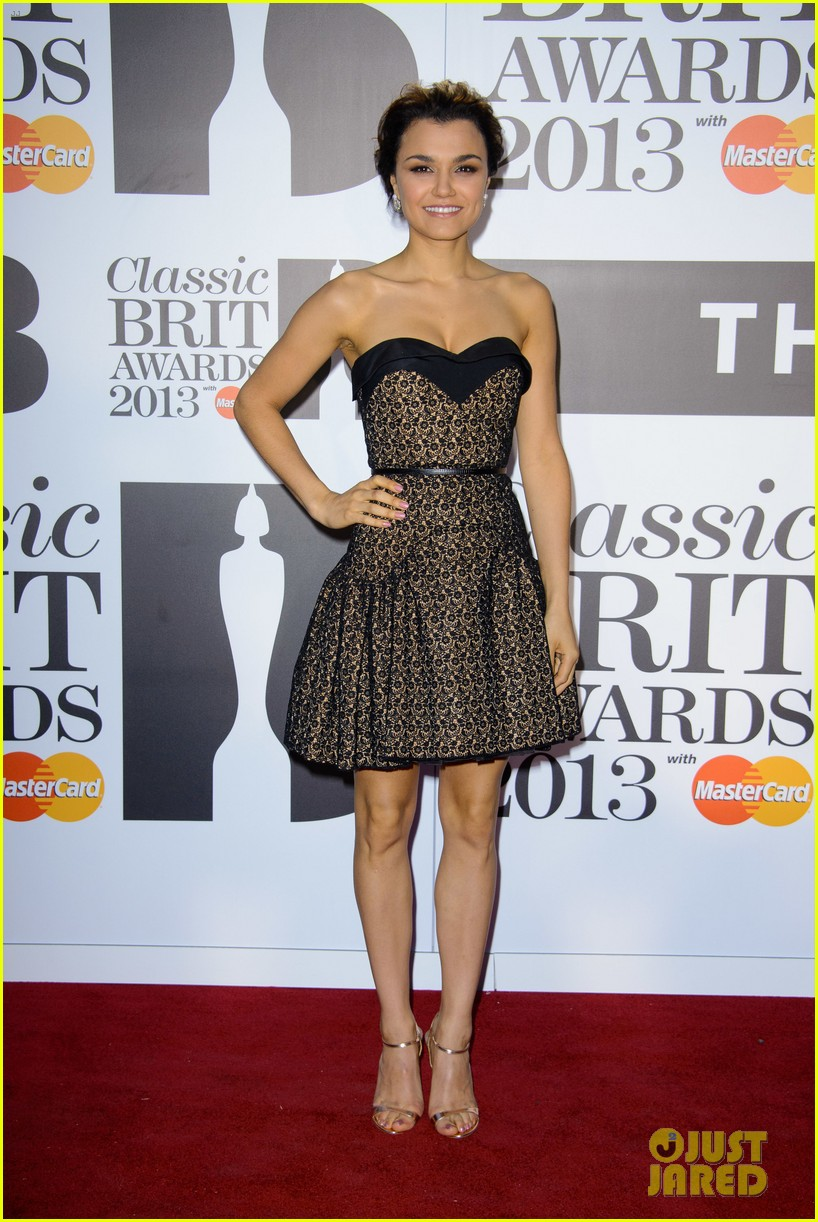 samantha barks celebrates birthday at classic brit awards 11